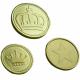 Mønter og poletter lavet af metal På lager lager
