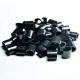 Plastik one-way låse til stofarmbånd