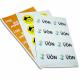 Klistermærker på A4 ark med fuldfarvetryk