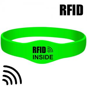 RFID silikonearmbånd