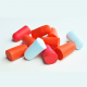 Earplugs made of polyurethane foam
