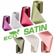 Stofbånd, viskose (Rayon) - acetat, lavet af træcellulose. Miljøvenligt tekstil til indvielsesbånd.