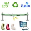 Design online miljøvenligt og bæredygtigt indvielsesbånd.