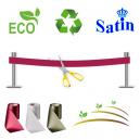 Indvielsesbånd uden tryk. Økologisk, miljøvenlig og bæredygtig.