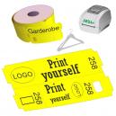 Direkte termisk garderobe billetruller til JMB4+ printer