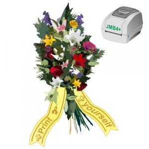 Udskriv som du vil, når du vil, buketbånd med JMB4+ termisk printer