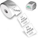 Udskriv selv adgangsbilletter og kuponer med JMB4+ termisk direkte printer