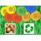 Bæredygtige poletter lavet af kartoffelstivelse