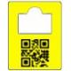 Garderobemærker nummeretiketter med QR kode