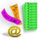 Kuponer og billetter trykt på Tyvek papir