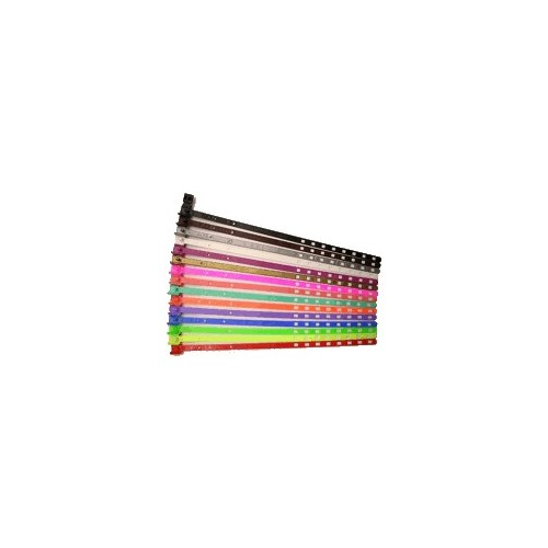 7 mm smalle plastikbånd med snaplås