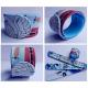 Slap silikone gummi armbånd trykt i fuld farve