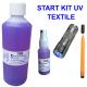 UV start kit til mærkning af tekstilbeklædning