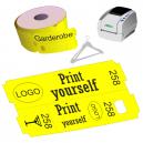 Direkte termisk garderobe billetruller til JMB4 printer