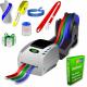 JMB4 termisk printer, der udskriver på ruller af papirbånd, polyesterbånd og polyprotexbånd