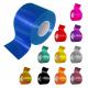 Ruller I forskellige farver til krydsbånd produktion