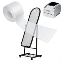 Ruller af gennemsigtigt klæbebånd til JMB4 print system