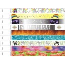 Mønstrede papirarmbånd i forskellige designs
