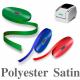 Smalle polyester satinbånd