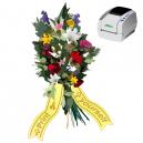 Udskriv som du vil, når du vil, buketbånd med JMB4 termisk printer
