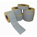 Ruller af klæbende etiketter til termiske printere