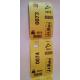 Garderobenumre termiske billetter med udskrivning