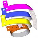 Plast armbånd 19mm L uden print