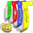 Plast armbånd L send dit design