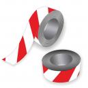 Barriere bånd i rød og hvid til sportsbegivenheder