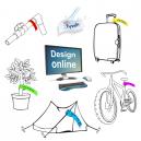 Markeringsbånd tryk Design selv