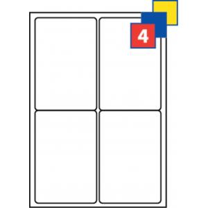 Klistermærker A4-ark uprintet