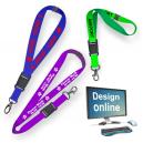 Design online keyhangers med silketryk