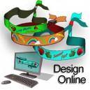 Tekstilarmbånd vævet Design selv