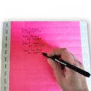 Markør til papirarmbånd