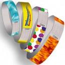Papir armbånd forhånd trykt multi farve