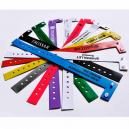 Brugerdefinerede trykte smalle vinyl plastarmbånd