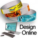 Papir armbånd multi farve designer
