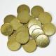 Metal mønter vi har på lager