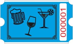 Drink rulle - Blå