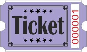 Ticket billetter - Lilla
