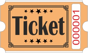 Ticket billetter - Orange