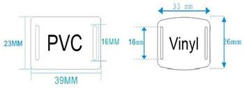 RFID skyderen dimensioner